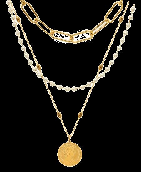 Halsketten Gold für Frauen
